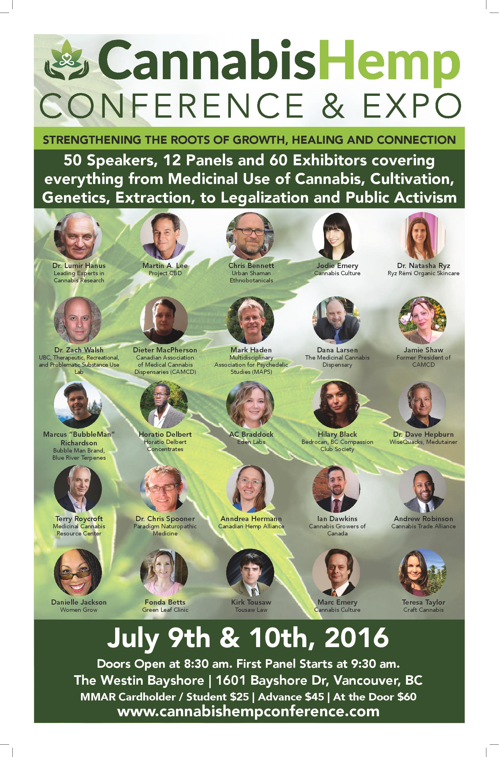 2016 Cannabis Hemp Conference Poster (Social Media)