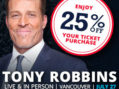 Tony Robbins Live in Vancouver Plus 8 other Amazing Presenters